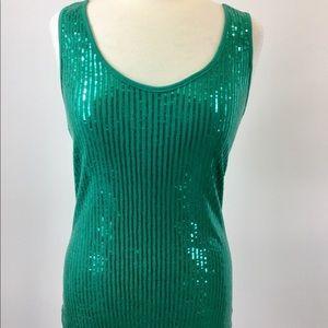 Express Green Designer Shirt Size L (B-74)